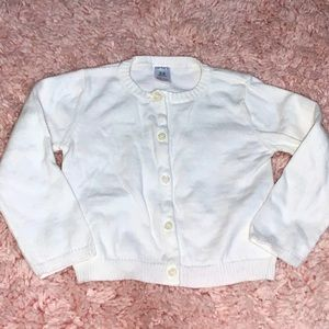 carters babygirl cardigan sweater